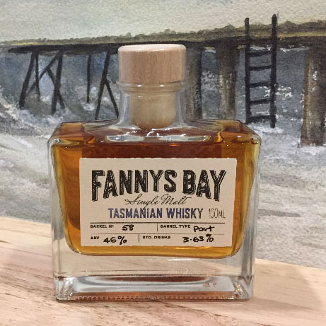 Fannys Bay Whisky 100ml