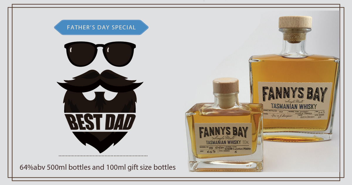 Fathers Day Special Lightly Peated Sherry Barrel Aged Whisky