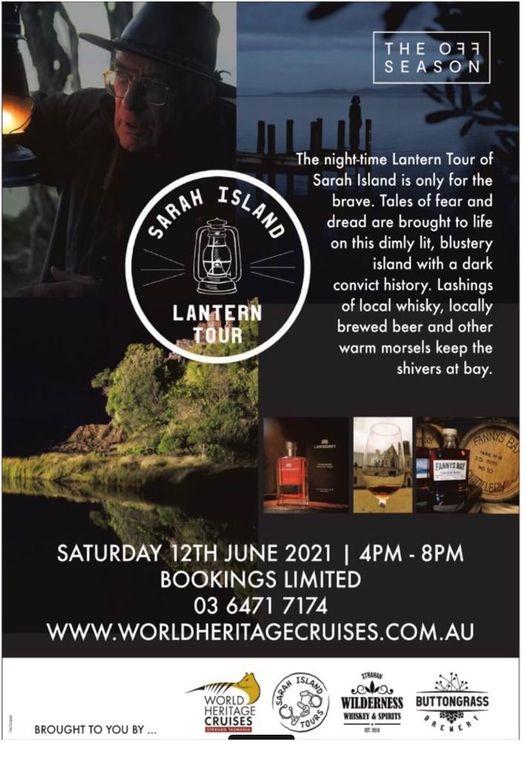 Sarah Island Lantern Tour